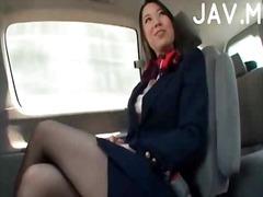 آسيوى في السيارة يابانيات خارج المنزل لعبة