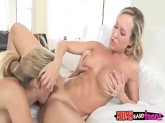 Lia lor and brandi love horny threesome