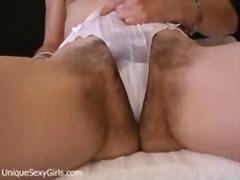 Kundičky Chlpáčky Staršie Ženy Pošvy Vagíny