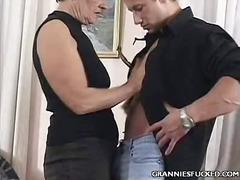 Babica Hardcore Dama Starejše Ženske Grobo