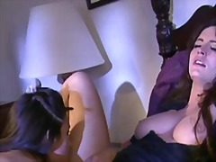 Two hot babes having sensual sapphic sex