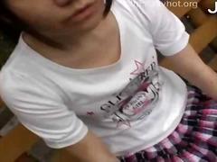 Orang Asia Orang Jepun Luar Rumah Awam Pantat