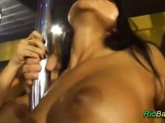 Oustanding gangbang at brazilian party
