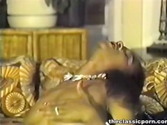 Smut retro vid nearly sensuous fucking fest