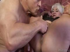 Beautiful grannie dana hayes is having sex
