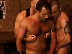 Anal Gay Tatuatges Grup de tres