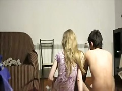 Worthwhile legal age teenager girl screwed and creampied on the floor