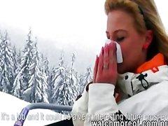 Amatöör Blondid Suhuvõtmine Paar Oraal