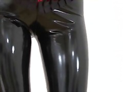 Babe British Latex Softcore