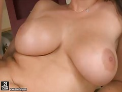 Sweet lesbians aletta ocean and zafira play with each other's pussies