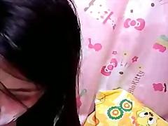 Søt Ansikt Orientalsk Webkamera Vakker