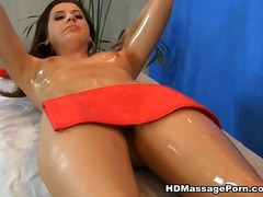 Pussy doing massage labia