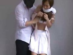 Aasia Jaapani Avalikus Kohas Stripp Õues