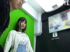 אסיאתיות יפניות ציבורי פורנו רך בחוץ