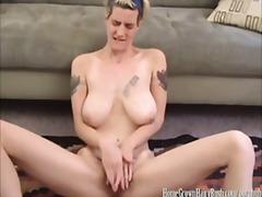 Baguhan Blonde Mabuhok Pagjajakol Orgasm