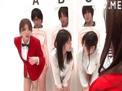 אסיאתיות יפניות אוראלי מסיבה פוסי