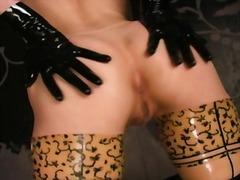 Dievčatá Latex Striptíz