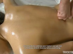 Massaging a lusty excitement