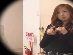 Horny asian slut enjoys a fuck in spy cam hardcore sex video