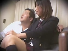 Leggy jap teen nailed viciously in spy cam sex movie