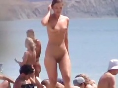 Great nudist beach video of open-minded bitches displaying their naked figures