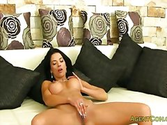 Busty babe anal fucked by fake agent