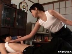ญี่ปุ่น ผู้หญิงมีควย กางเกงใน