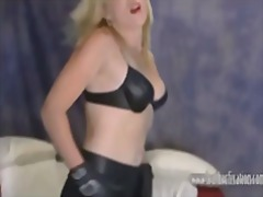 Rabos Mulheres Sexy Louras Fetish Couro