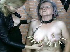 סאדו שליטה נשית סבתות