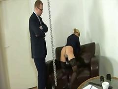 Blondiner Dominering Fetish Ydmygelse Kinky Sex