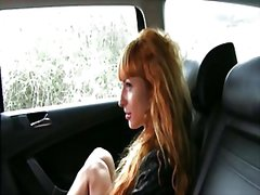Hot liza doggystyle fucked for taxi fare