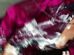 Bukkake Eiaculazione Con Bersaglio Facciale Gloryhole Sperma