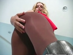 Bejba Lepotice Erotično Fetiš Hlačne Nogavice