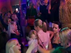 Horny real sluts at party sucking dick