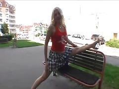 ערומות ציבורי מציאותי בחורה