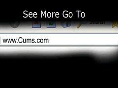 Tagumik Rinnakas Kaamera Ees Dildo Masturbeerimine