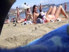 תחת חוף עירום ריגול טופלס