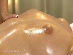 Clítoris Lèsbic Llepar Massatge Olioses