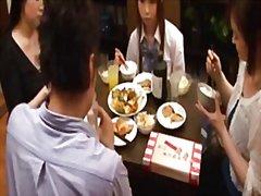 69 Asiatere Parsex Japanere Slugning Af Sæd