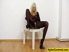 Blond Euro Fetish Frivol Masturbationen