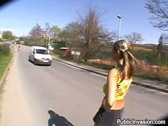 Kaili Publiskais Sekss Reāli Video Meitene