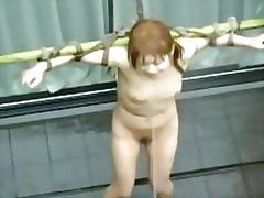 אסיאתיות סאדו שעבוד יפניות ציבורי