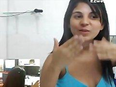 Masturbacija Ured Solo Webcam Latinoamerikanke