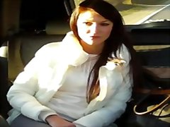 Sexy penelope rides taxi and gets fucked