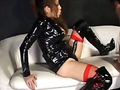 Domina Lateks Strap-On