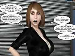 3D Mulher Bonita Grande Cartoon Robusta Hentai