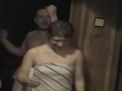 Rough doggy fuck and facial for slutty latin sweetheart