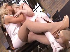 Плавуша Лезбејки Високи чорапи Високи чорапи