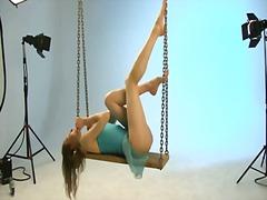 Ballerina annett. seesaw photoshoot.