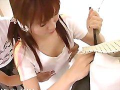 უკან იაპონელი ლოკვა მასტურბაცია
